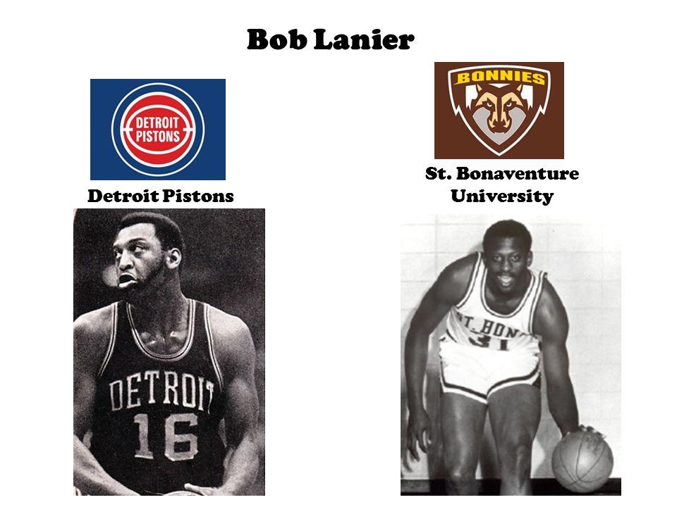 Bob Lanier Detroit Pistons St. Bonaventure University