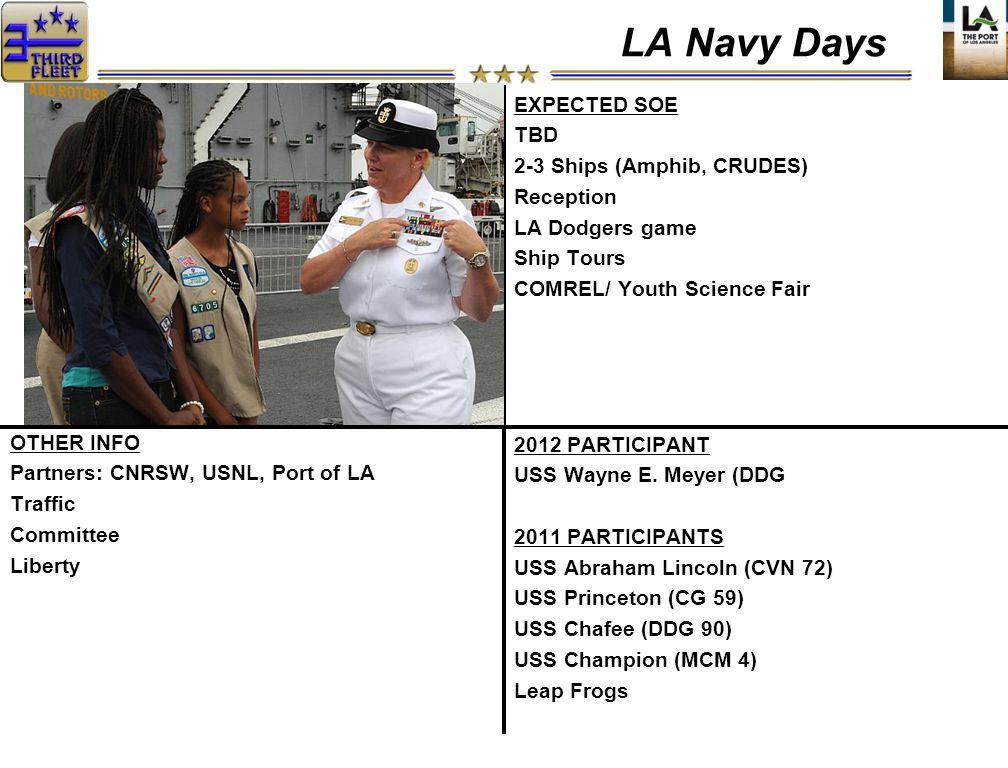 2012 PARTICIPANT USS Wayne E.