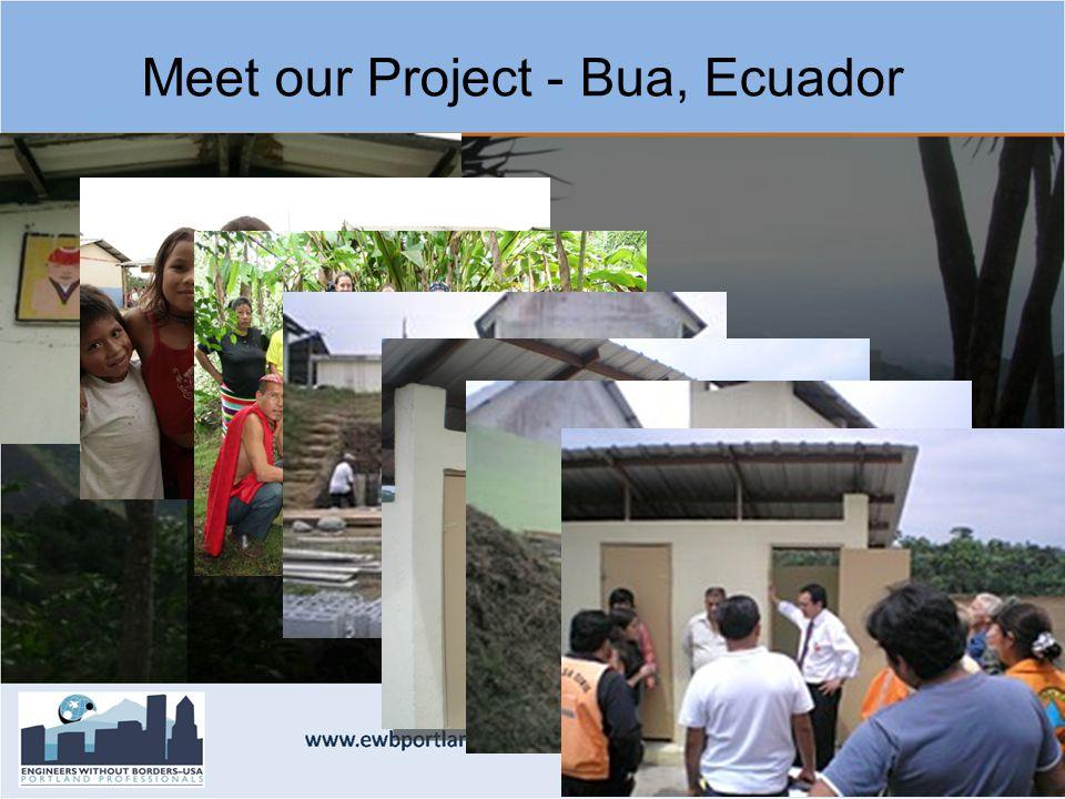 Meet our Project - Bua, Ecuador