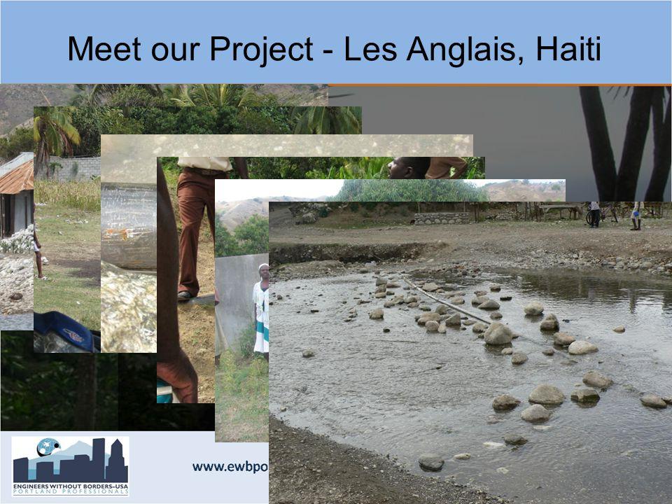 Meet our Project - Les Anglais, Haiti