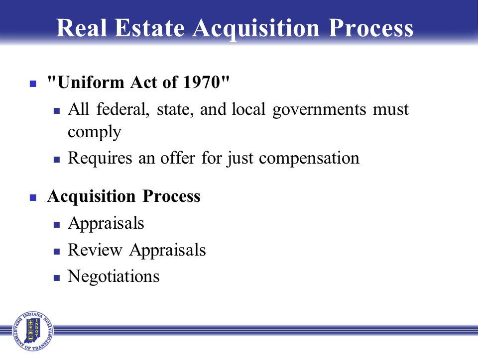 Real Estate Acquisition Process
