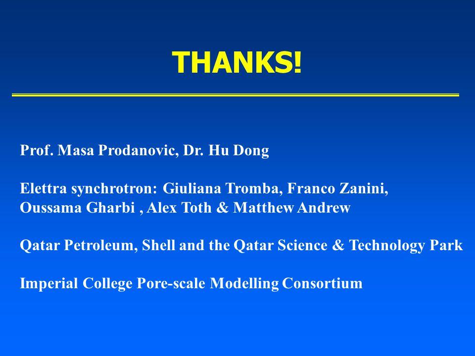 THANKS. Prof. Masa Prodanovic, Dr.