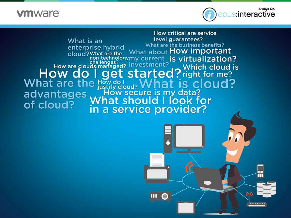 Outline security protocols and compliance requirements Determine your budget Find the right provider for YOU Outline a migration plan Assessing your cloud readiness