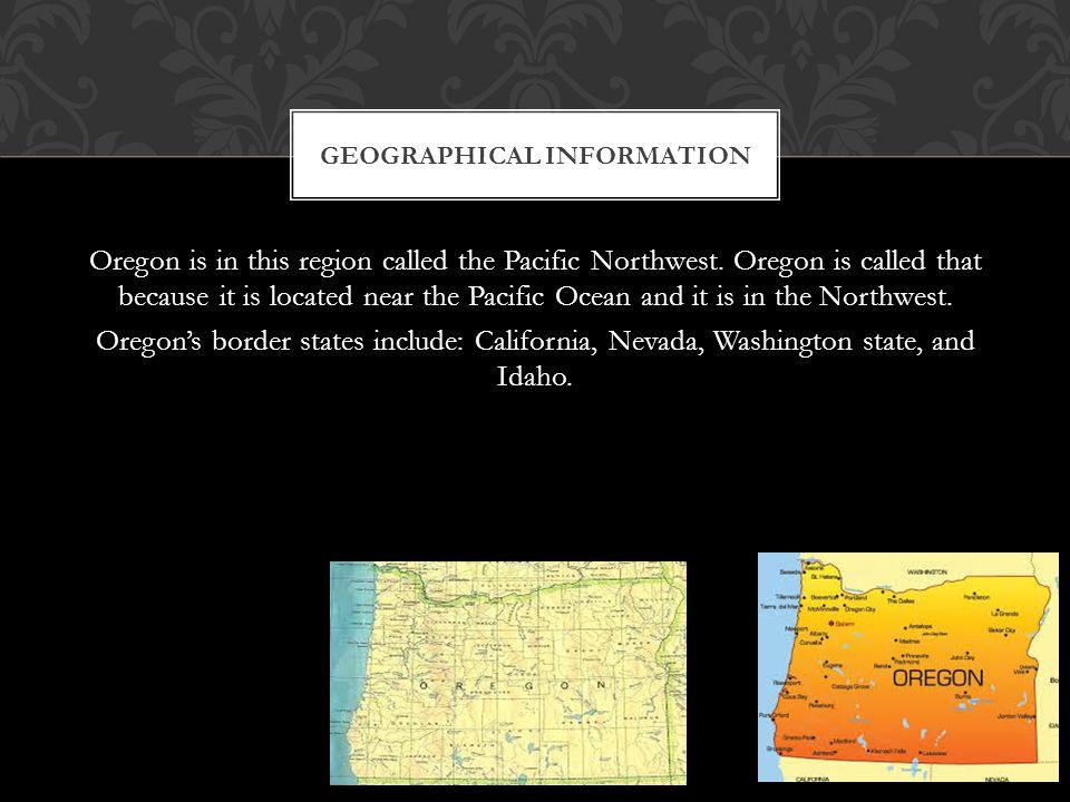 www.oregon.gov www.50states.com www.infoplease.com RESOURCES