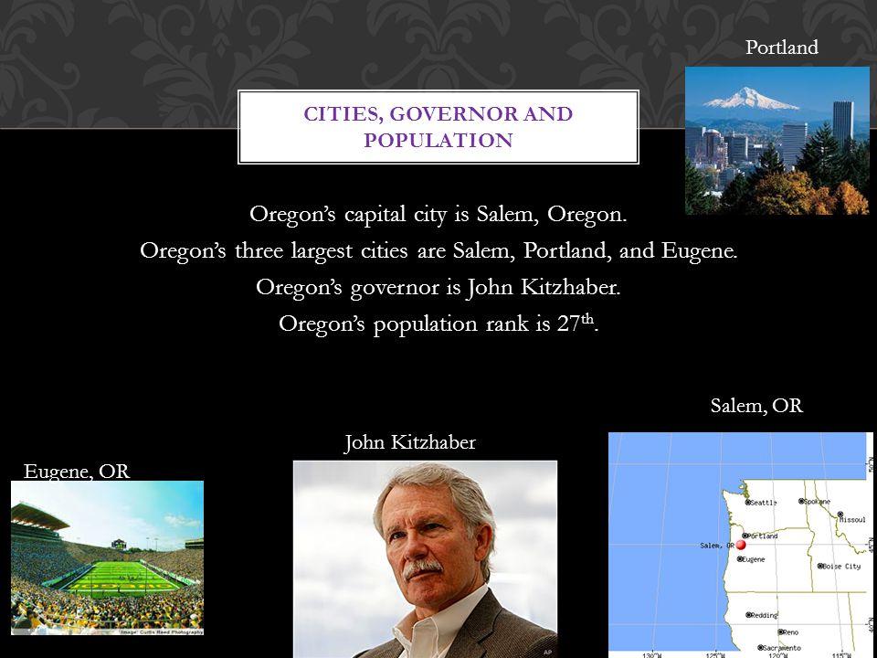 Oregon's capital city is Salem, Oregon.