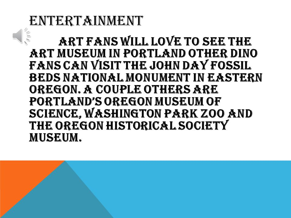 STATE SYMBOLS Capital: Salem Rock: THUNDEREGG Flower: OREGON grape Tree: DOUGLAS fir Song: OREGON, my OREGON Animal: beaver Bird: western meadowlark Largest city: PORTLAND