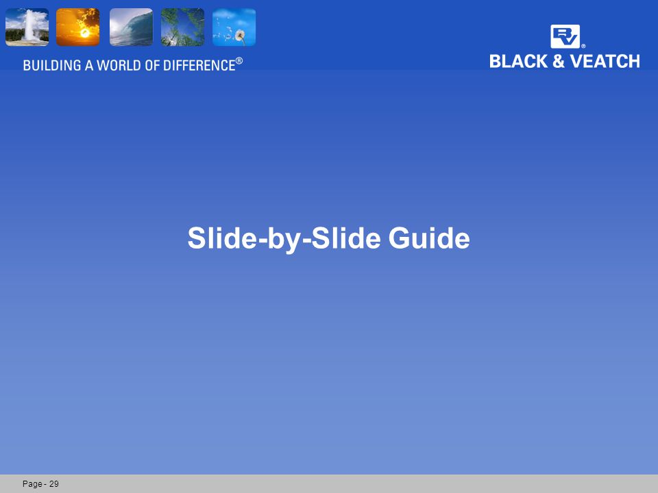 Page - 29 Slide-by-Slide Guide