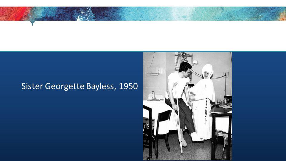 Sister Georgette Bayless, 1950