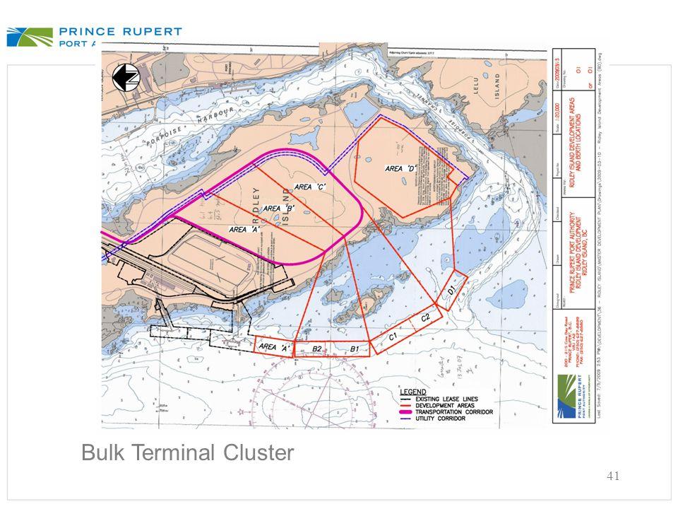 41 Bulk Terminal Cluster