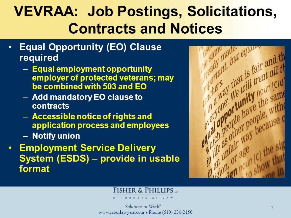 www.laborlawyers.com ● Phone (610) 230-2150 Section 503: Electronic Version of Self- ID Form Provided That: OMB Number and expiration date Contain text of form without alteration Sans-serif font, such as Calibri or Arial At least 11-pitch font size (footnote and burden statement in 10-pitch) 28