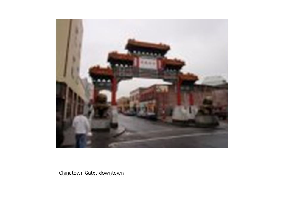 Chinatown Gates downtown