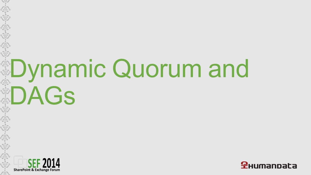 Dynamic Quorum and DAGs