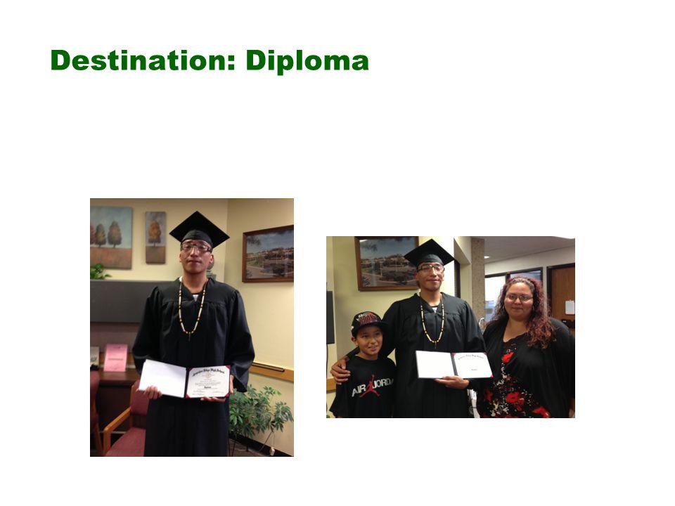 Destination: Diploma