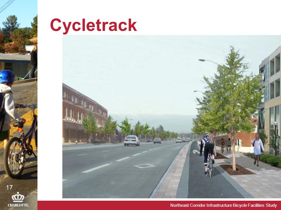 Northeast Corridor Infrastructure Bicycle Facilities Study Cycletrack 17