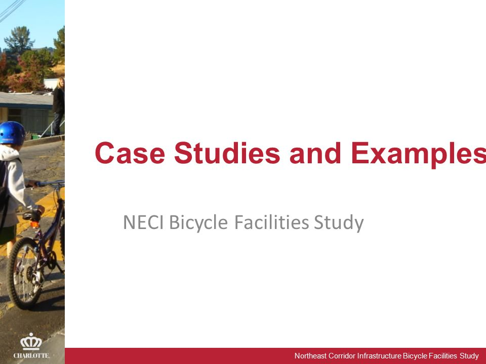 Northeast Corridor Infrastructure Bicycle Facilities Study Case Studies and Examples NECI Bicycle Facilities Study