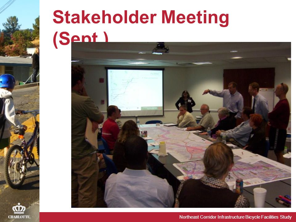 Northeast Corridor Infrastructure Bicycle Facilities Study Stakeholder Meeting (Sept.)
