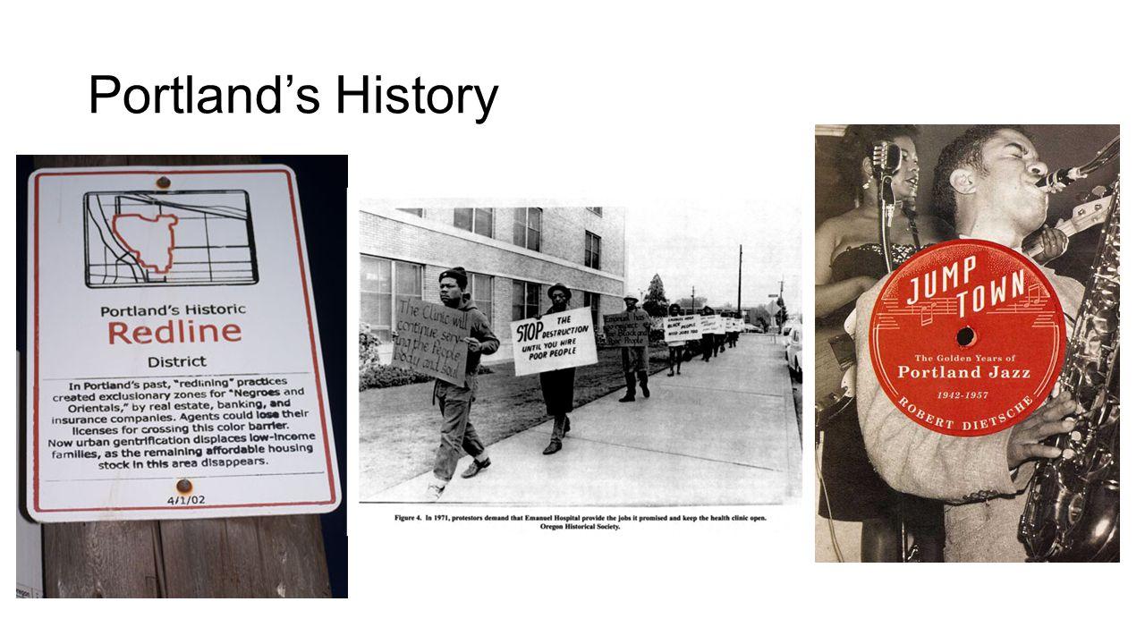 Portland's History
