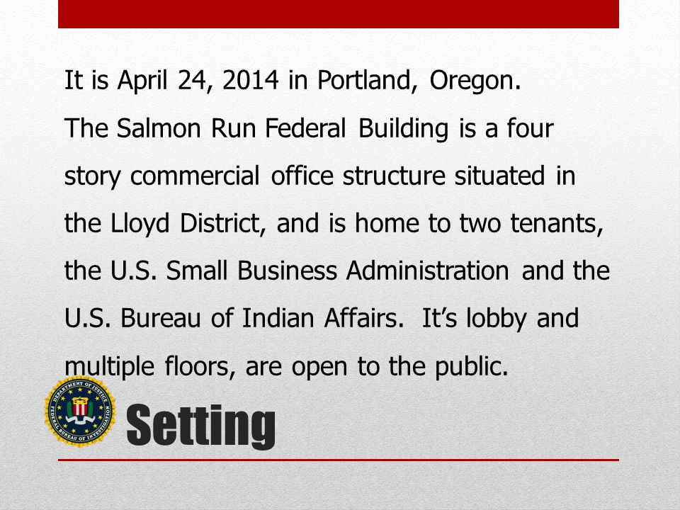 It is April 24, 2014 in Portland, Oregon.