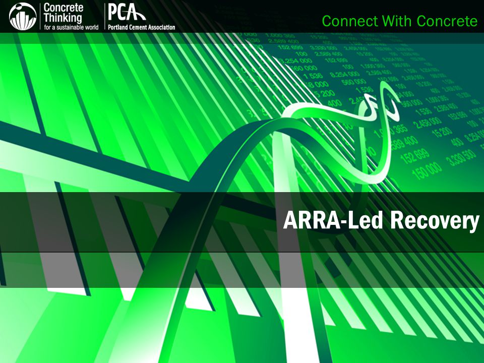 Connect With Concrete ARRA-Led Recovery