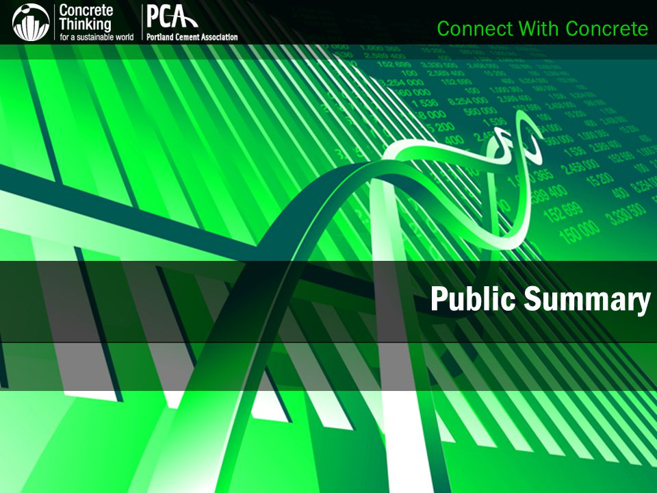 Connect With Concrete Public Summary