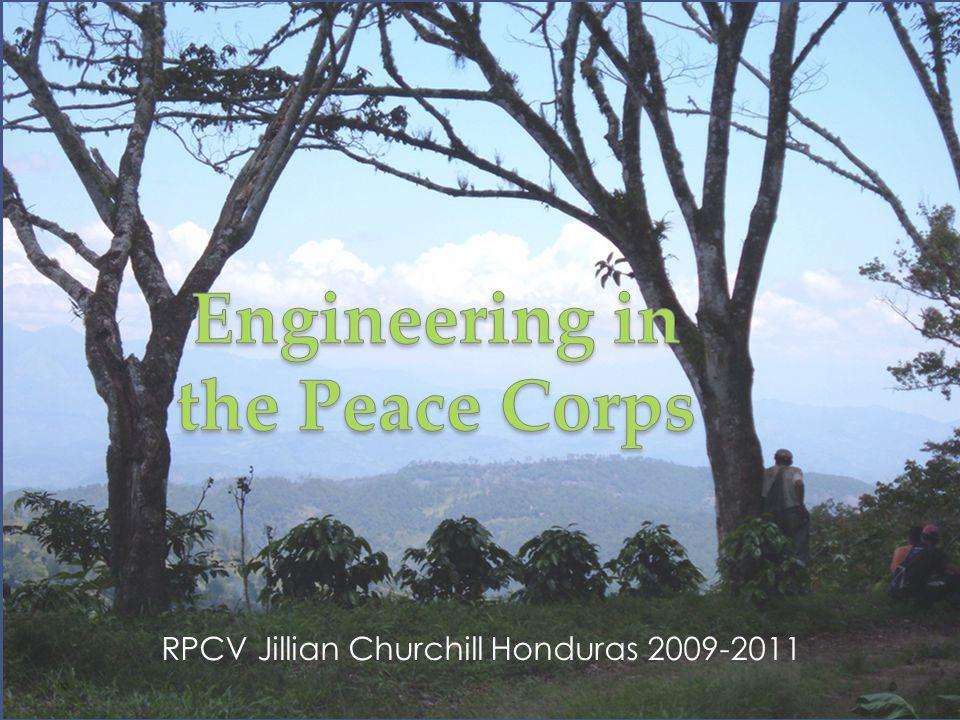 RPCV Jillian Churchill Honduras 2009-2011