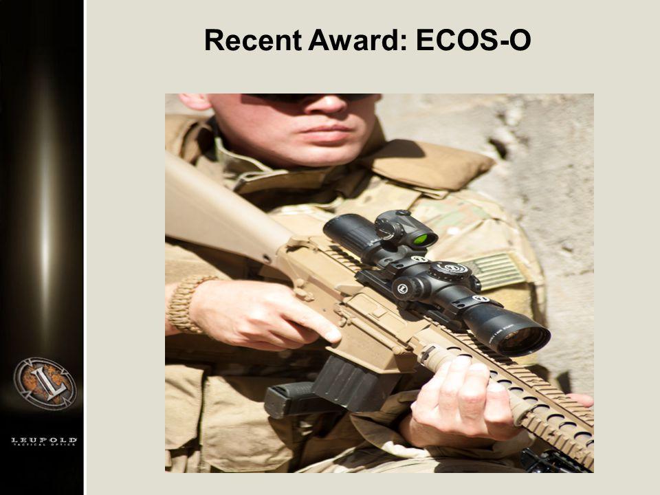 Recent Award: ECOS-O