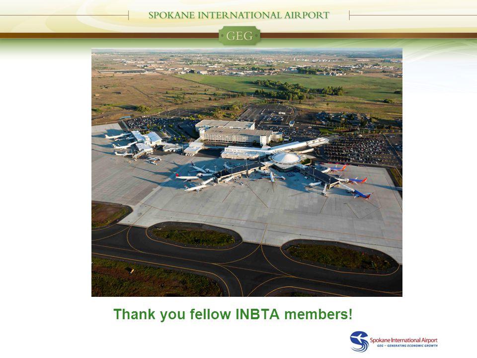 Thank you fellow INBTA members!