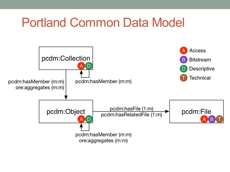 Portland Common Data Model