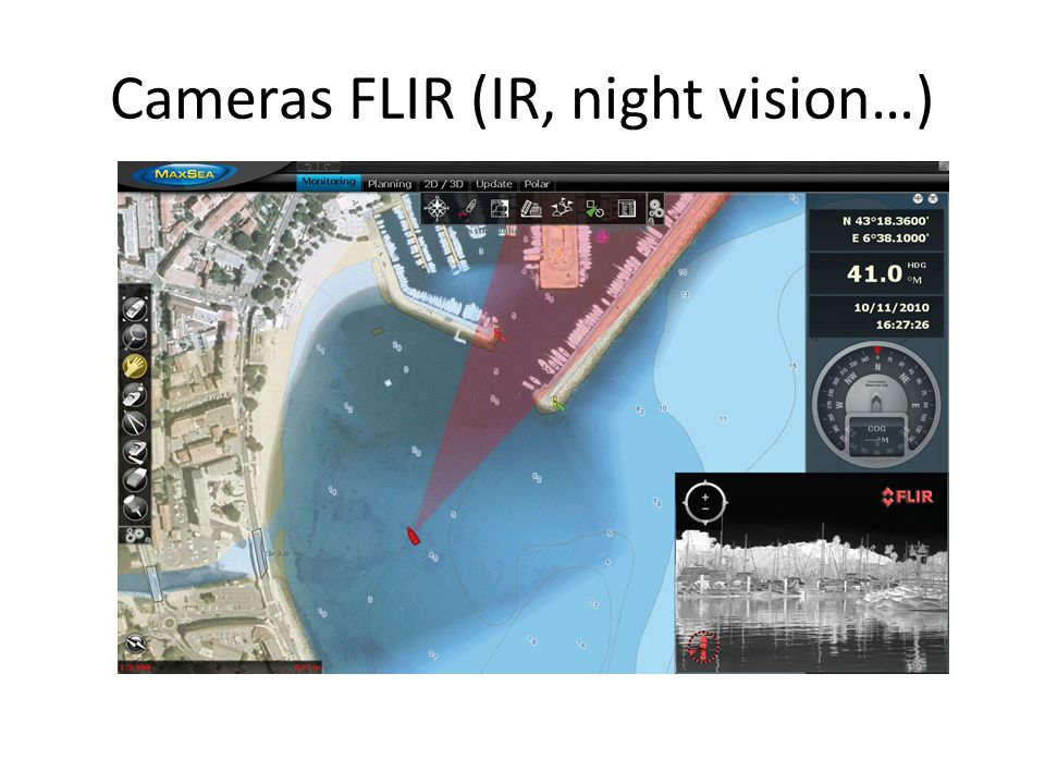 Cameras FLIR (IR, night vision…)