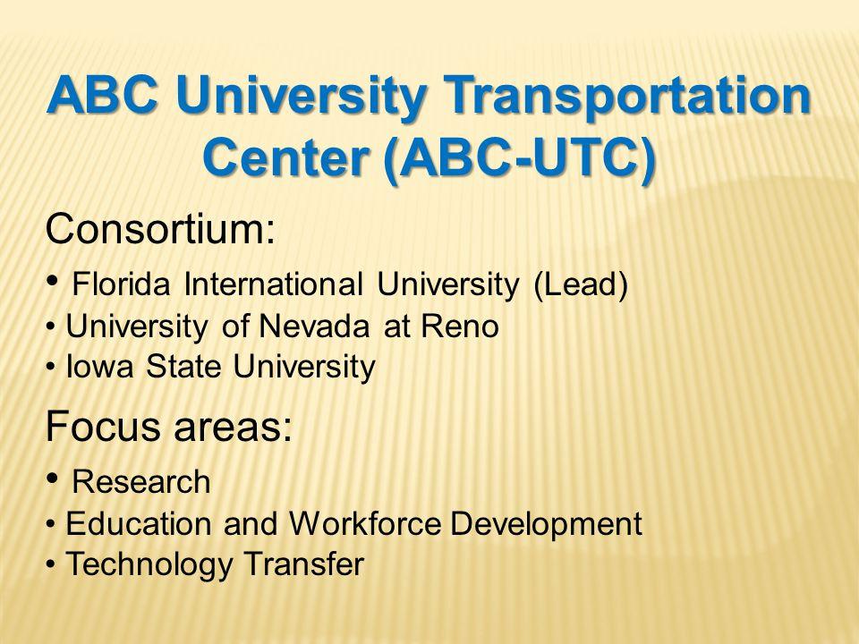 2014 ABC-UTC Accelerated Bridge Construction Conference Start Date: Wed., Dec.