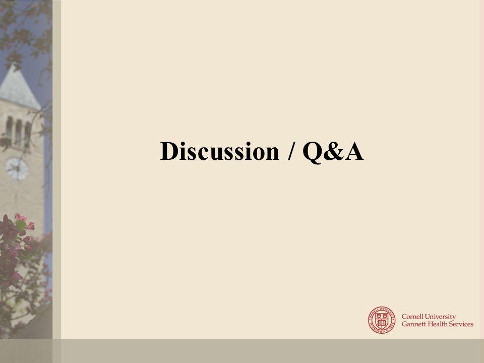 Discussion / Q&A