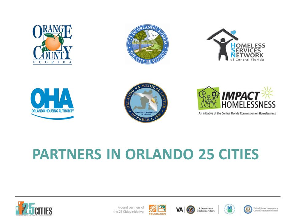 PARTNERS IN ORLANDO 25 CITIES