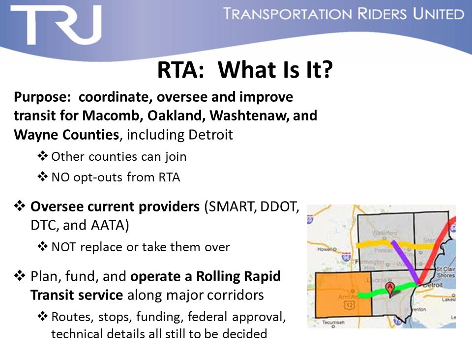 RTA: What Is It.
