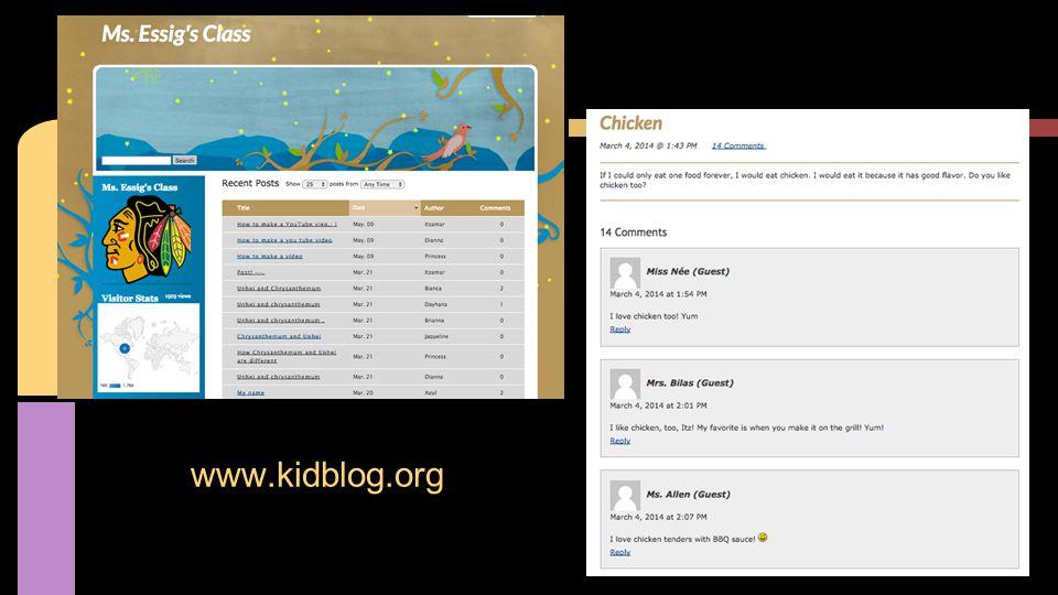 www.kidblog.org