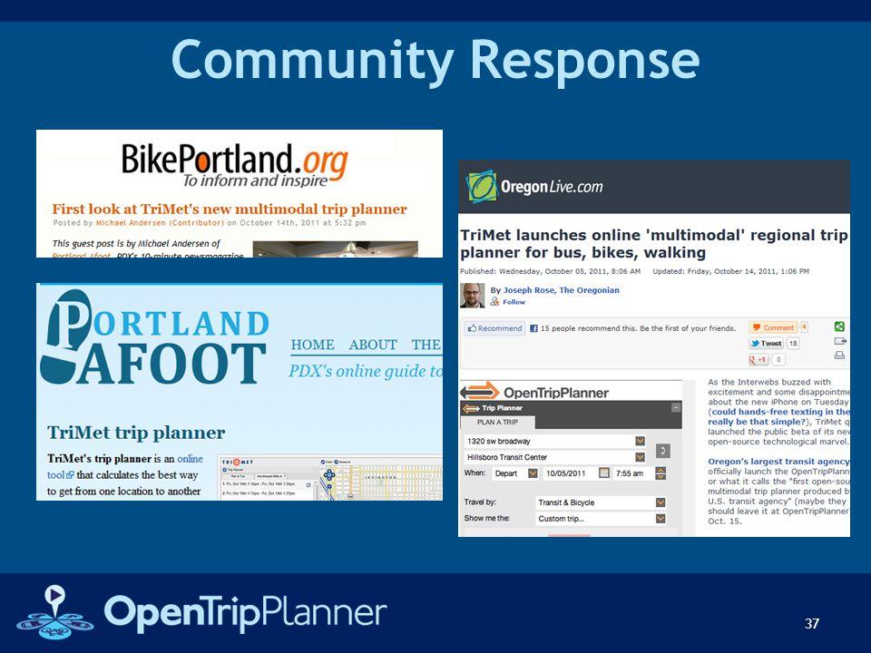 Community Response 37