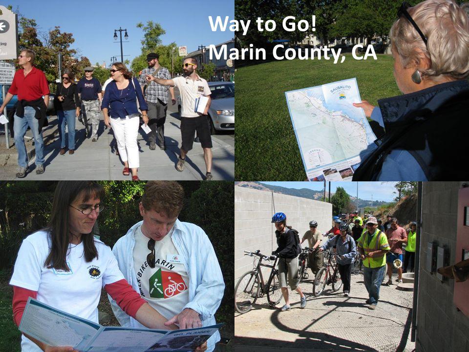Way to Go! Marin County, CA