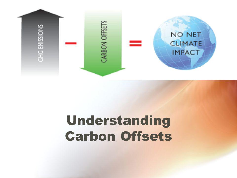 Understanding Carbon Offsets