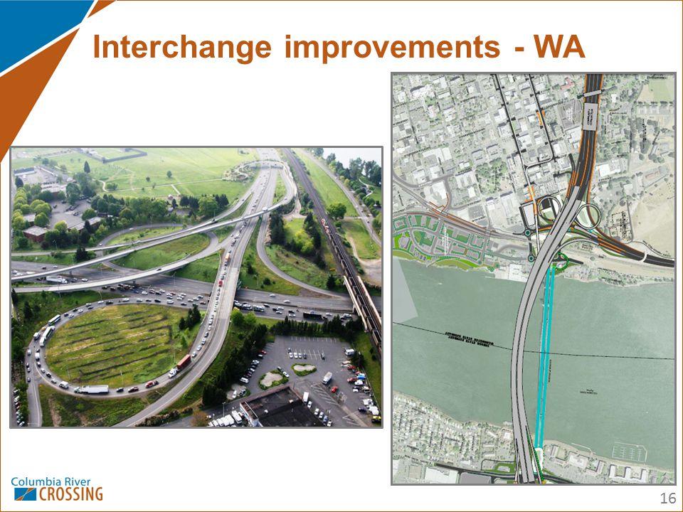 16 Interchange improvements - WA