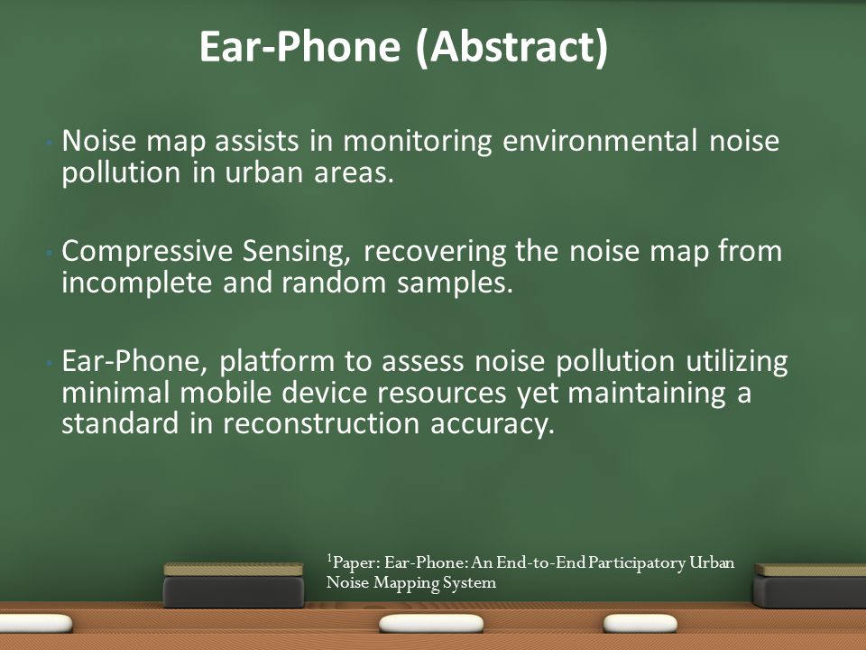 Mobile Smart Phones eliminate need for acoustic engineers.