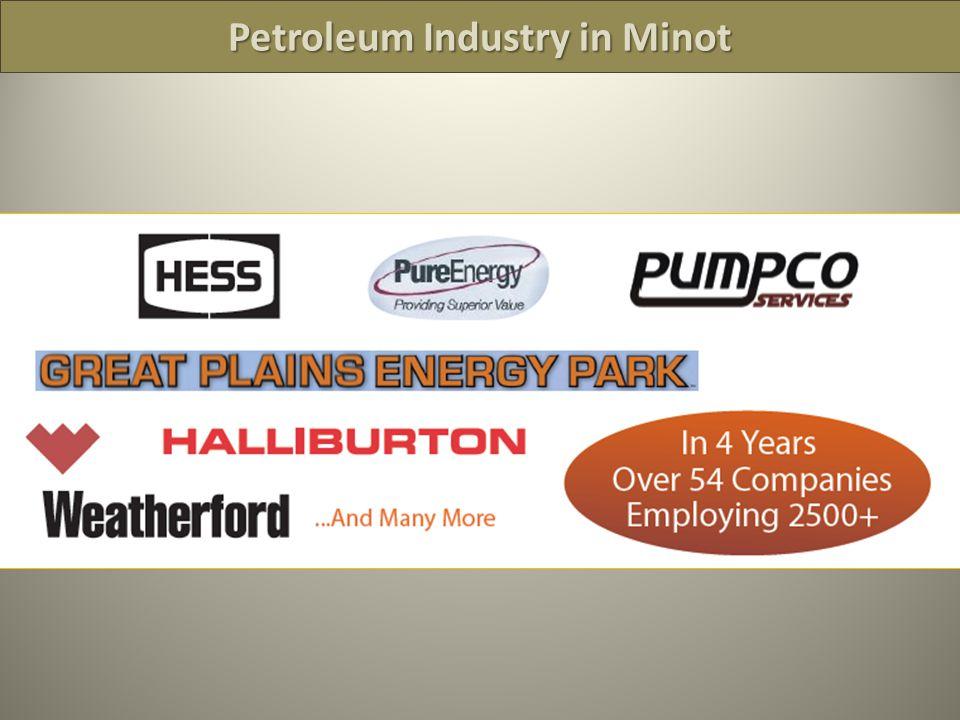 Petroleum Industry in Minot