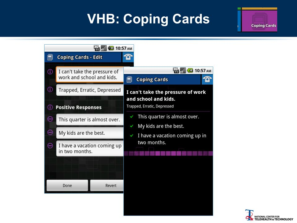 VHB: Coping Cards