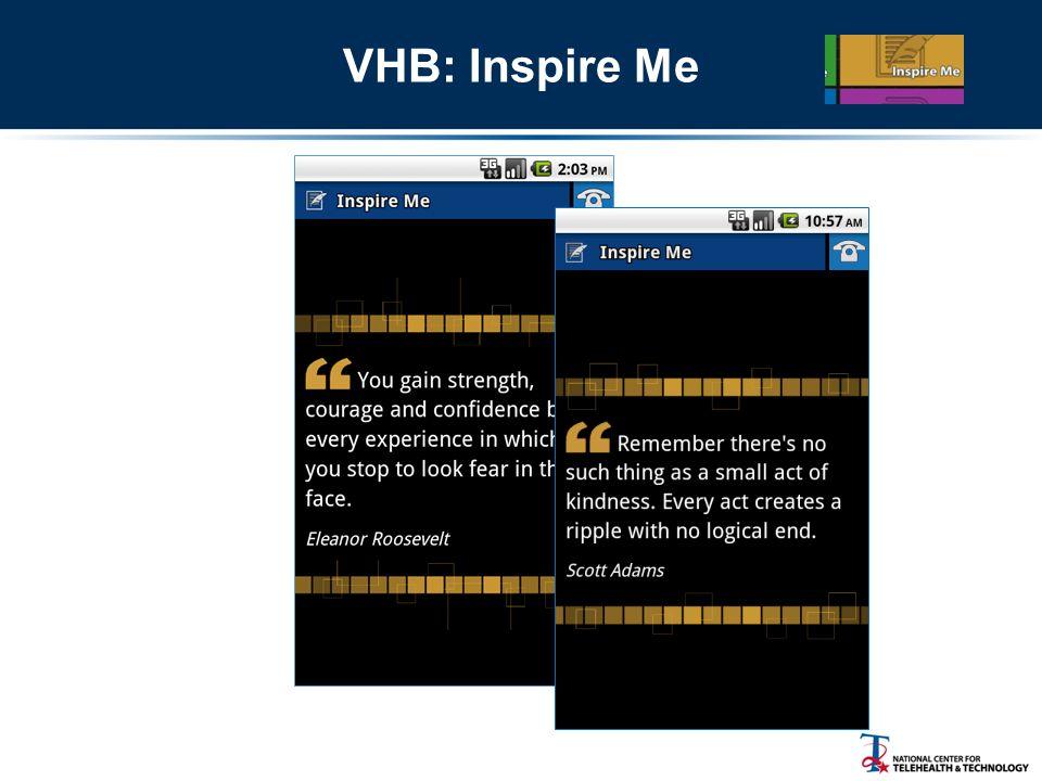 VHB: Inspire Me