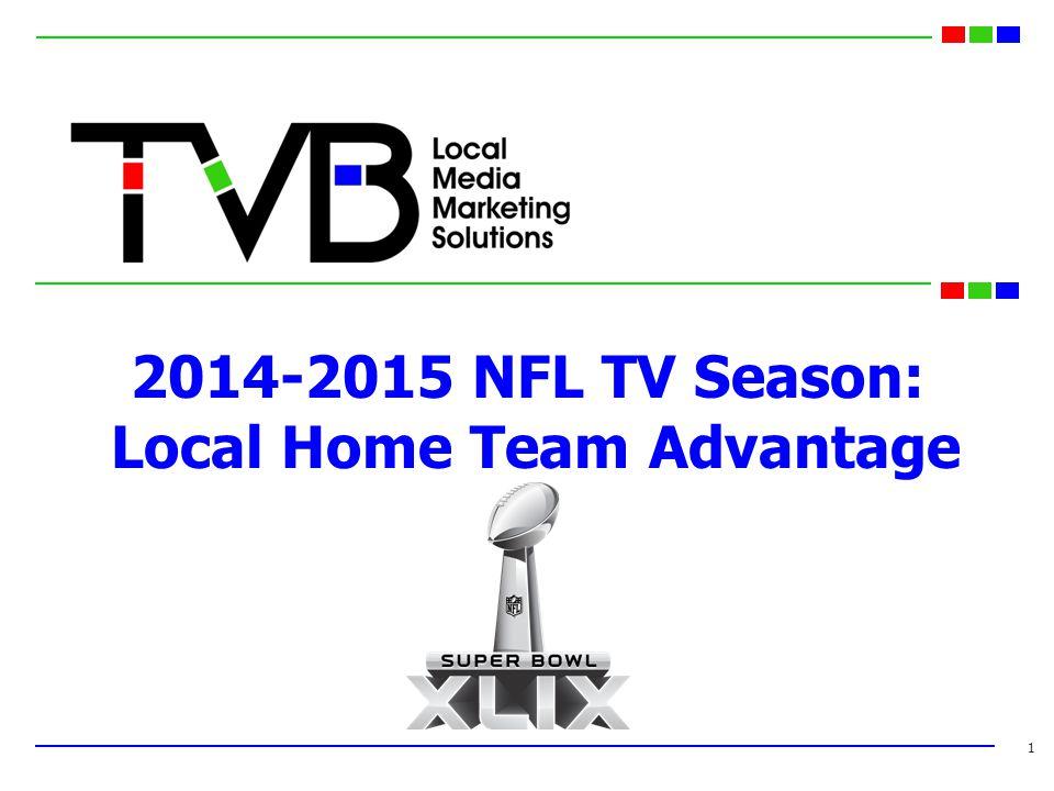 2014-2015 NFL TV Season: Local Home Team Advantage 1
