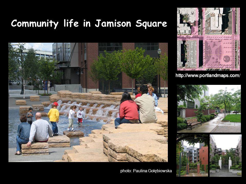 photo: Paulina Gołębiowska Community life in Jamison Square http://www.portlandmaps.com/