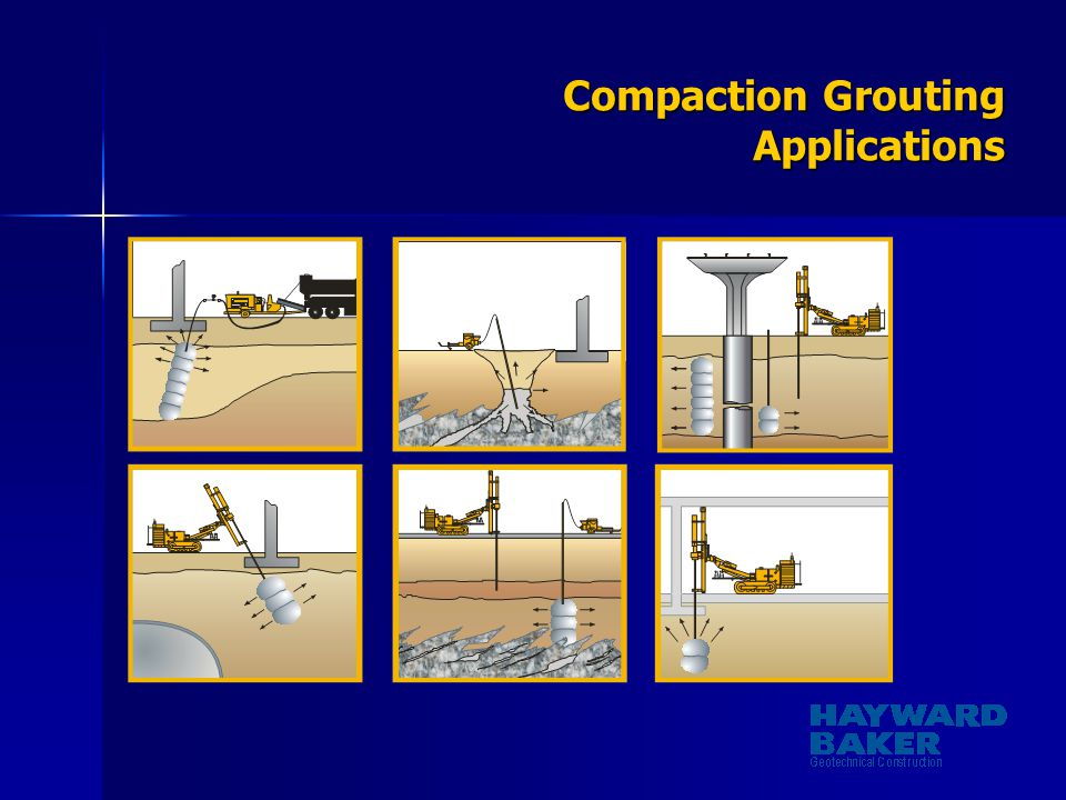 Compaction Grouting Applications
