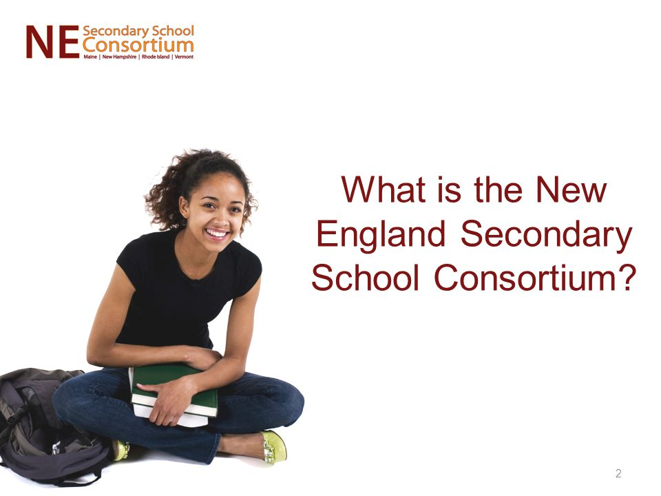 What is the New England Secondary School Consortium 2