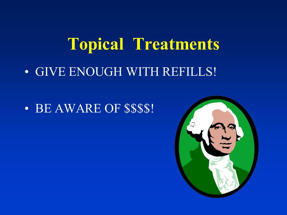 Nail Psoriasis topical fluorouracil qhs tazarotene gel 0.1% qhs class I-II topical steroids posterior nailfold intralesional Kenalog 5- 10 mg/cc methotrexate (Van Laborde, Dermatol Clin, 2000)