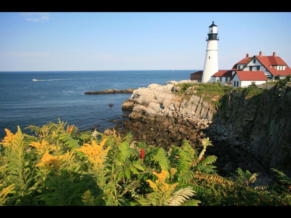 Portland Head Lighthouse, the coast of Maine