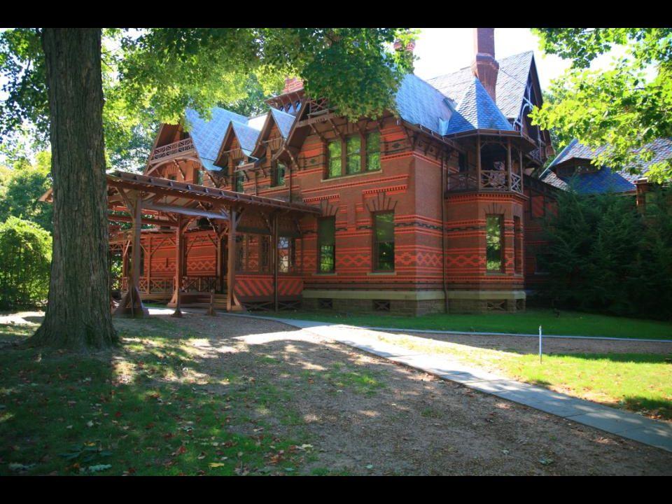 Mark Twain home, Hartford, Connecticut