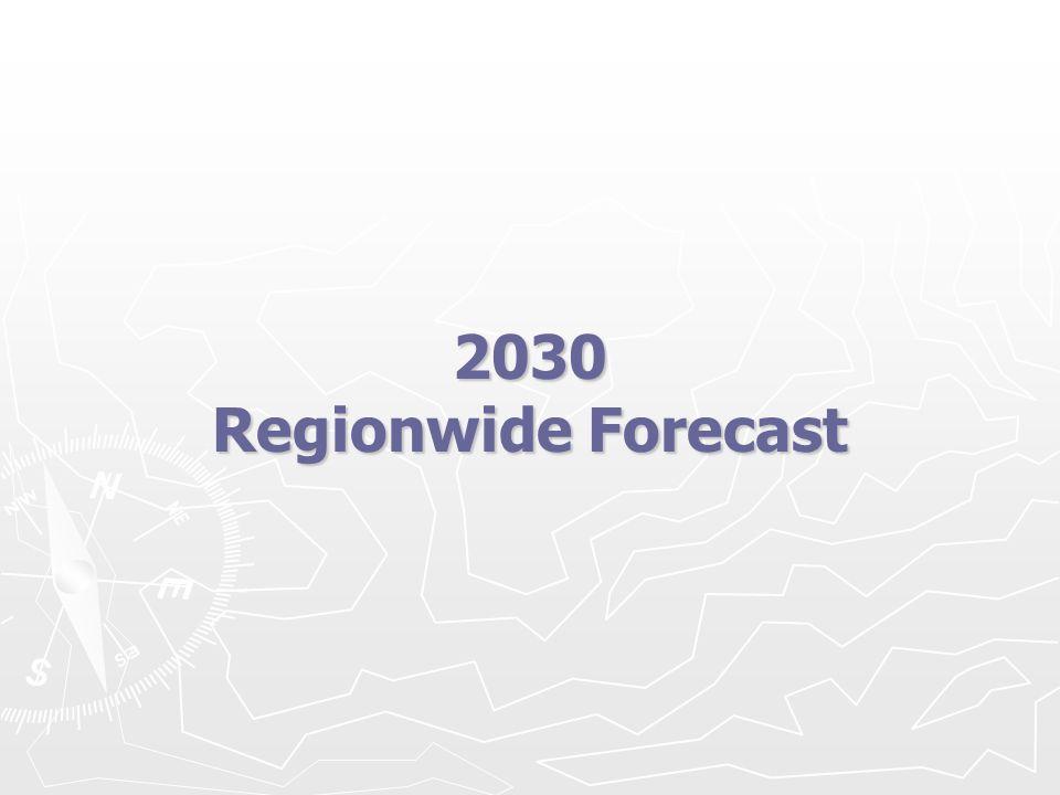 2030 Regionwide Forecast